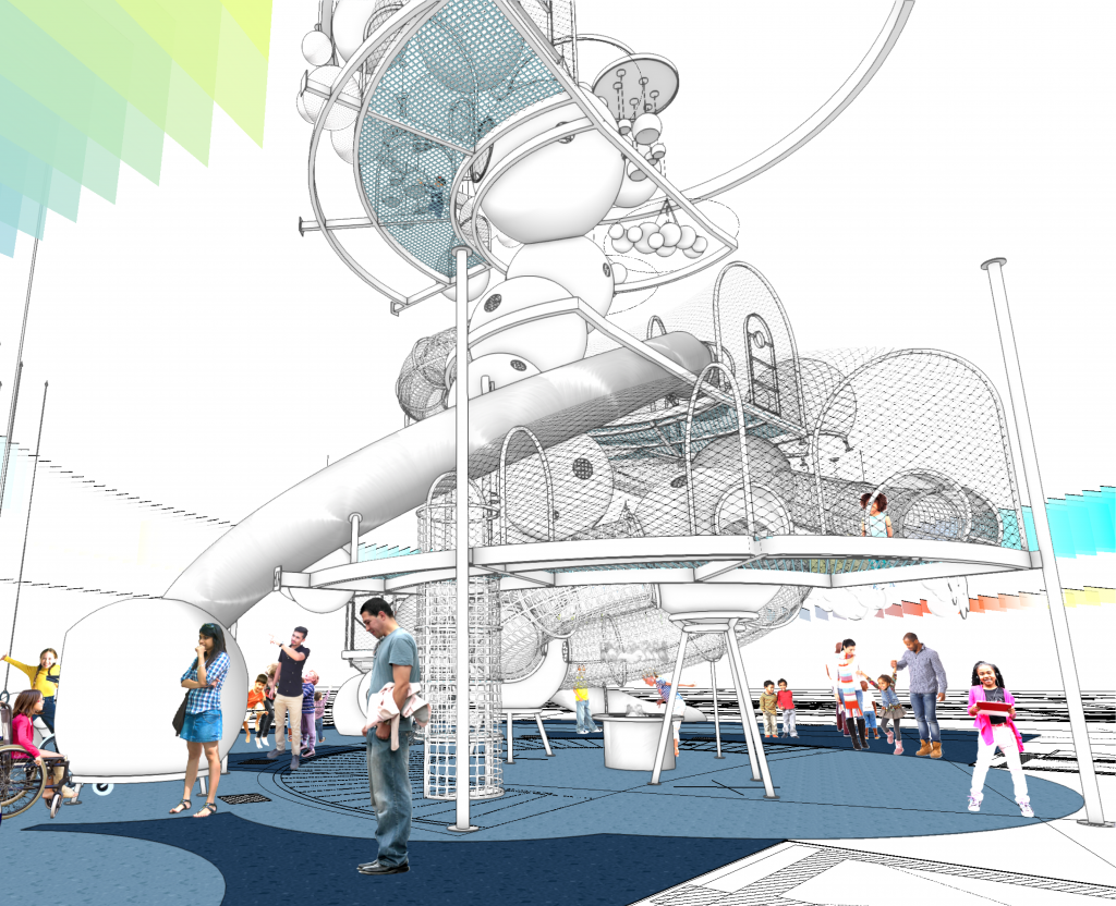 An artist's rendering of the 'dream machine'